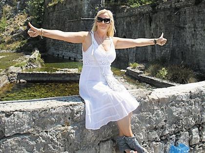 Наталья Гулькина в Черногории // личный архив певицы