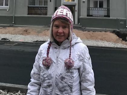 Евгения Чирикова: «Гражданство у меня российское. Мы с семьей живем в Таллине...» // из личного архива