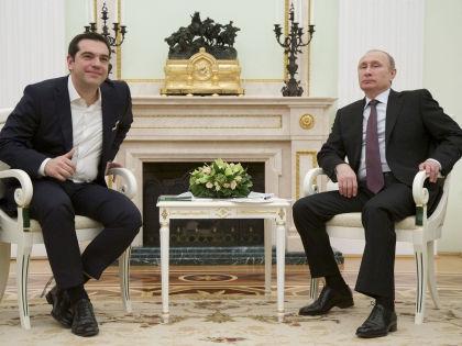 Встреча премьер-министра Греции с президентом РФ // Global Look Press