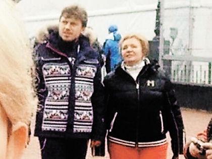 Артур Очеретный и Людмила Путина // avmalgin.livejournal.com