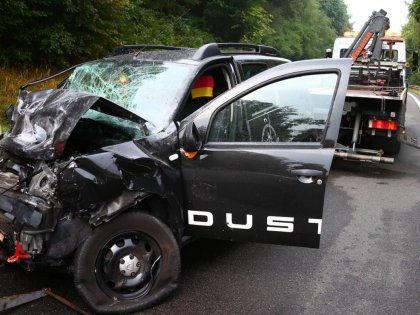 Даже в автокатастрофе водитель должен оставаться водителем // Global Look Press
