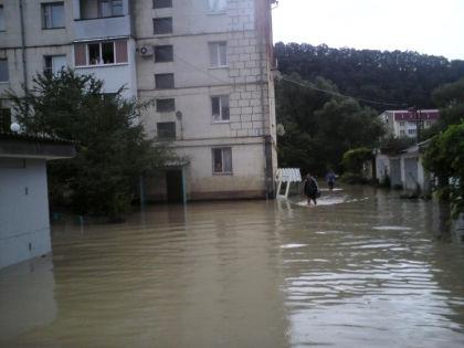 Наводнение в Крымске // ГУ МЧС РФ по Краснодарскому краю