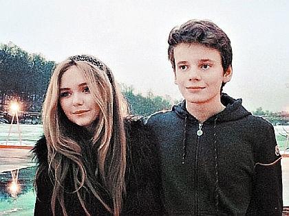 Стефания Маликова и Арсений Шульгин // instagram.com
