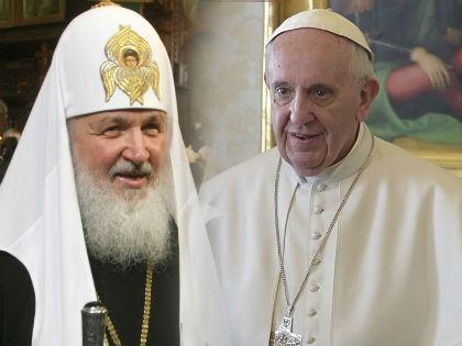 Патриарх Кирилл и Папа Римский Франциск // Global Look Press