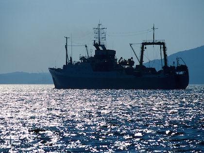 Траулер «Дальний Восток» затонул рано утром 2 апреля //  Леонид Дубейковский / Russian Look
