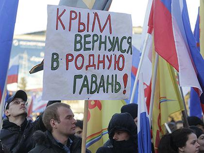 Ошибкой присоединение Крыма назвали 6% опрошенных // Николай Титов / Russian Look
