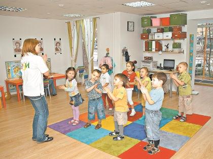 Занятия в детском клубе // архив «Бэби-клуба»