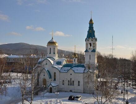 Официальный сайт Южно-Сахалинской и Курильской епархии