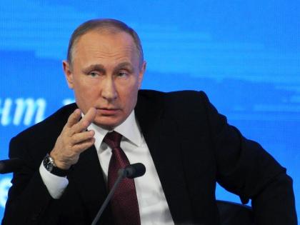 Владимир Путин на пресс-конференции 23.12.2016 // Андрей Струнин / «Собеседник»