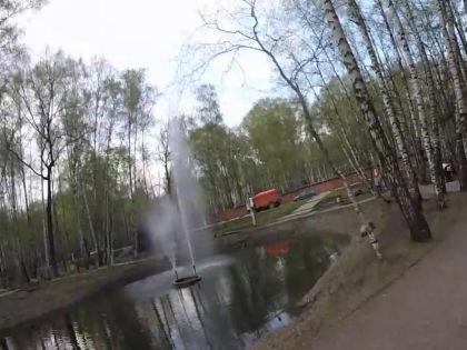 По версии следствия, убийца утонул в пруду парка Дубки в Химках, пытаясь избавиться от трупа // Кадр: Youtube