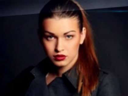 Модель Анна Дурицкая сопровождала Бориса Немцова в вечер его убийства // кадр Youtube.com