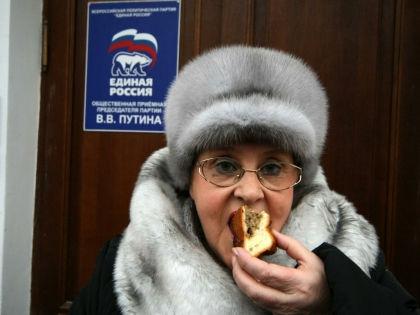 Огромные суммы «Единой России» жертвуют не только крупные организации, но и обычные граждане // Global Look Press