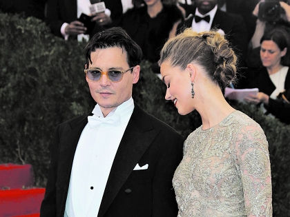 Джонни сделал это только для того, чтобы Эмбер Хёрд наконец вышла за него замуж // Global Look Press
