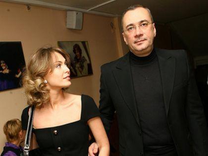 Константин Меладзе с бывшей женой Яной //