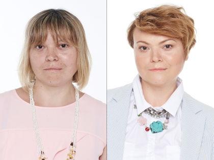 Екатерина до и после преображения // Павел Паршин / Savemotions