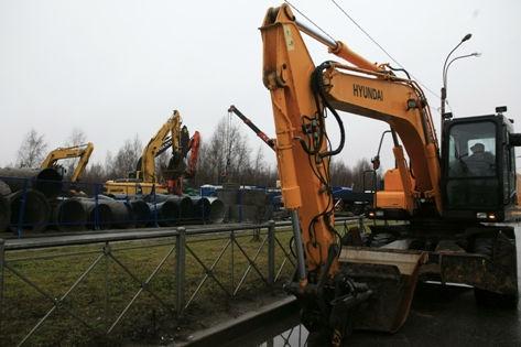 Стоимость украденного экскаватора составляет более 8,8 млн рублей // Nikolay Gyngazov / Russian Look