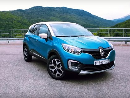 На отозванных кроссоверах Renault Kaptur проверят наличие следов контакта заднего правого гибкого тормозного шланга c подкрылком // Стоп-кадр с YouTube