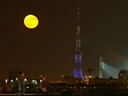 4 апреля Луна станет кроваво-красной на пять минут // Евгений Катаев / Russian Look