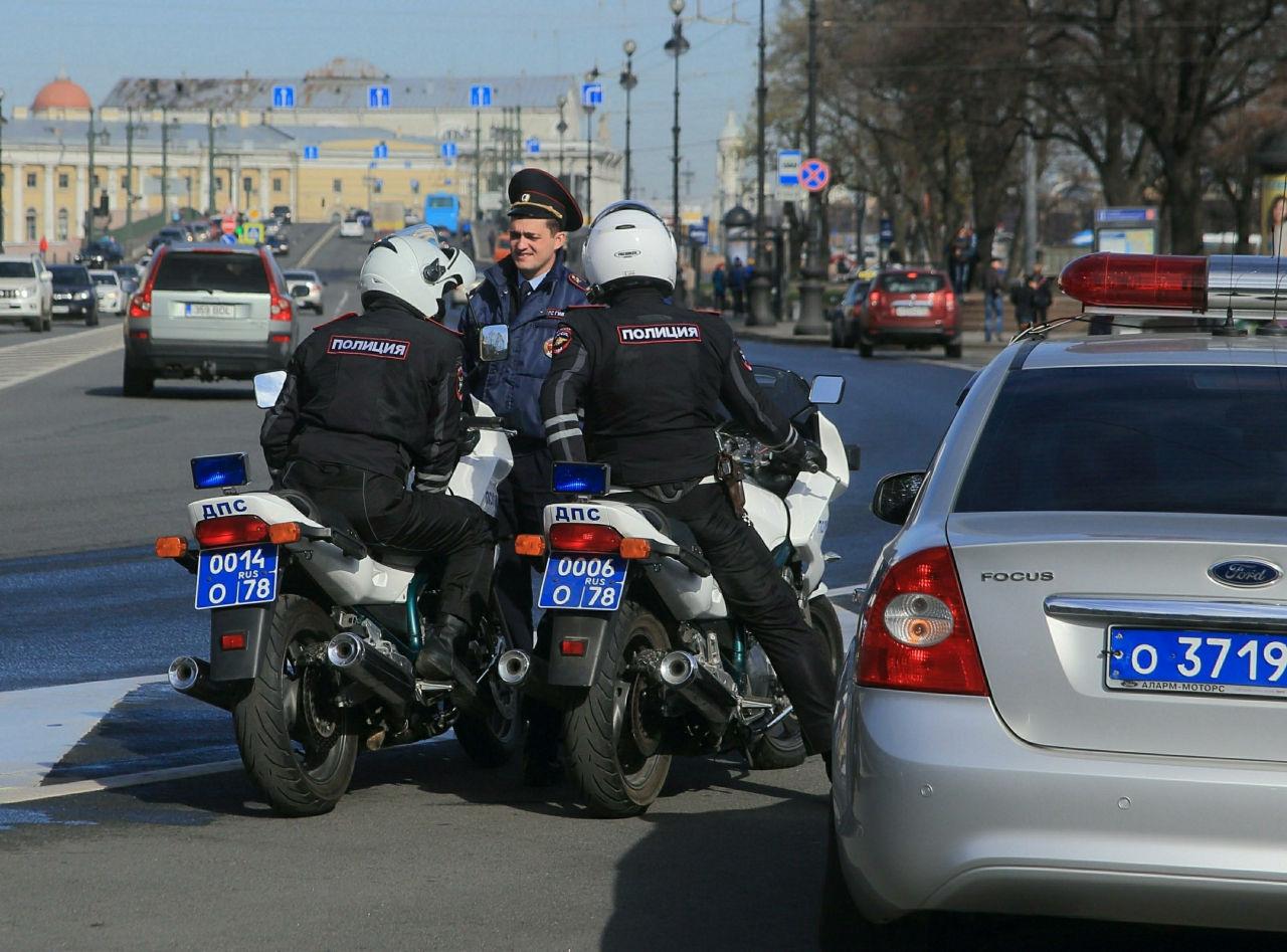 В центре Москвы кавказцами избит дорожный полицейский // Замир Усманов / Russian Look