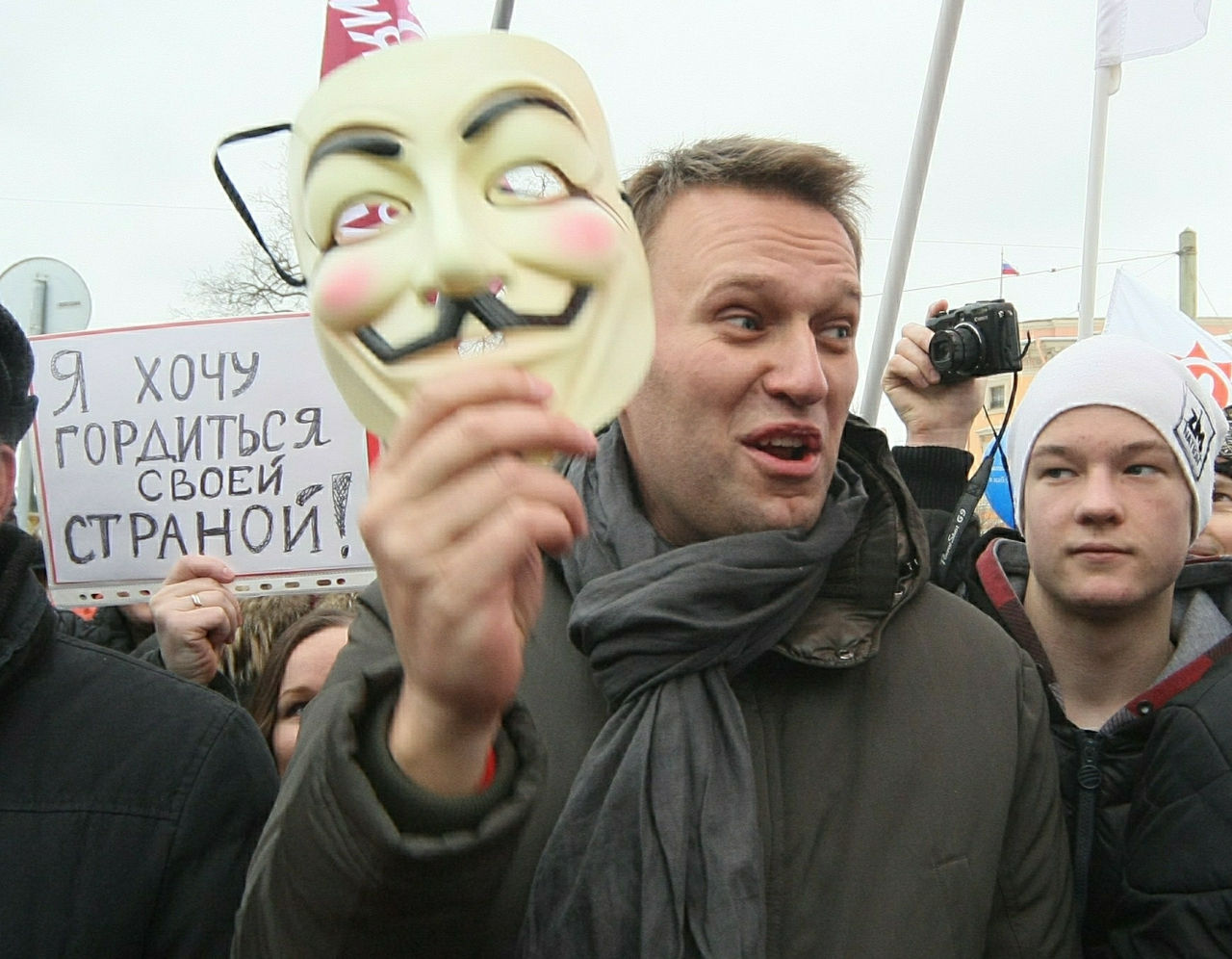 Оппозиция проведет антикризисный марш в Москве и ряде городов 1 марта // Замир Усманов / Russian Look
