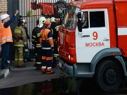 Площадь пожара составила около 150 квадратных метров // Анатолий Ломохов / Russian Look