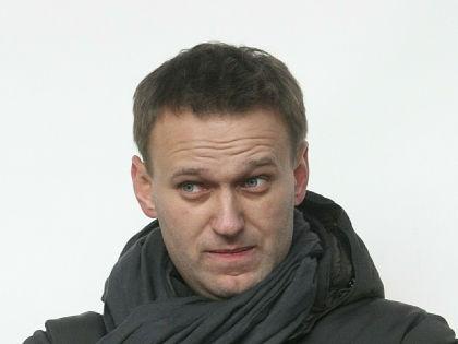 Известный оппозиционер Алексей Навальный //  Russian Look