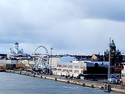 Вид на Хельсинки с залива // Маша Нестерова