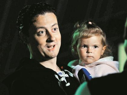 Стас Ярушин с дочерью Стефанией // Мила Стриж