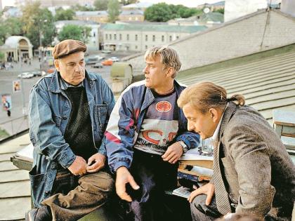 Те съемки Щербаков вспоминает с радостью // Юрий Феклистов