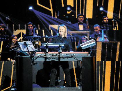 Юбиляр остался доволен концертом // пресс-служба Виктора Дробыша