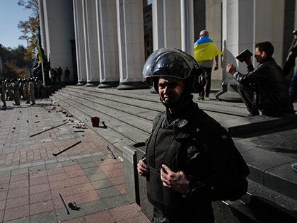 В феврале аналогичная ситуация произошла в Харьковском областном УВД // Сергей Харченко / Global Look Press