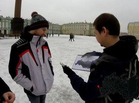 Опросы россиян // Стоп-кадр YouTube