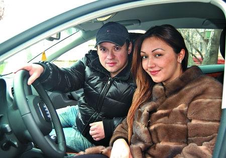 Андрей Гайдулян со своей невестой Дианой // Из личного архива