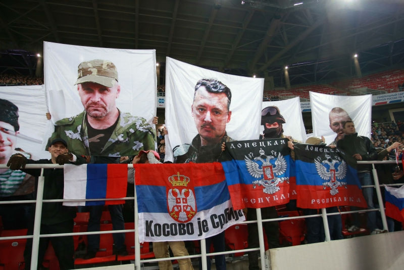Стрелков объявил о сборе средств для воюющих сепаратистов // Dmitry Golubovich/Russian Look