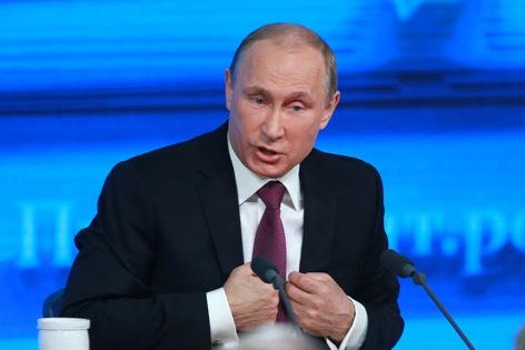 Владимир Путин считает, что та или иная сексуальная жизнь — это дело выбора каждого человека // Dmitry Golubovich / Russian Look