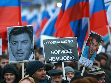Борис Немцов был убит 27 февраля на Большом Москворецком мосту //  Дмитрий Голубович / Russian Look