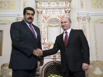 Владимир Путин и глава Венесуэлы Николас Мадуро, который пока поддерживает Россию // Global Look Press