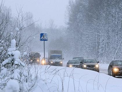 Инцидент произошел на Варшавском шоссе в Новой Москве в районе города Троицк // Russian Look