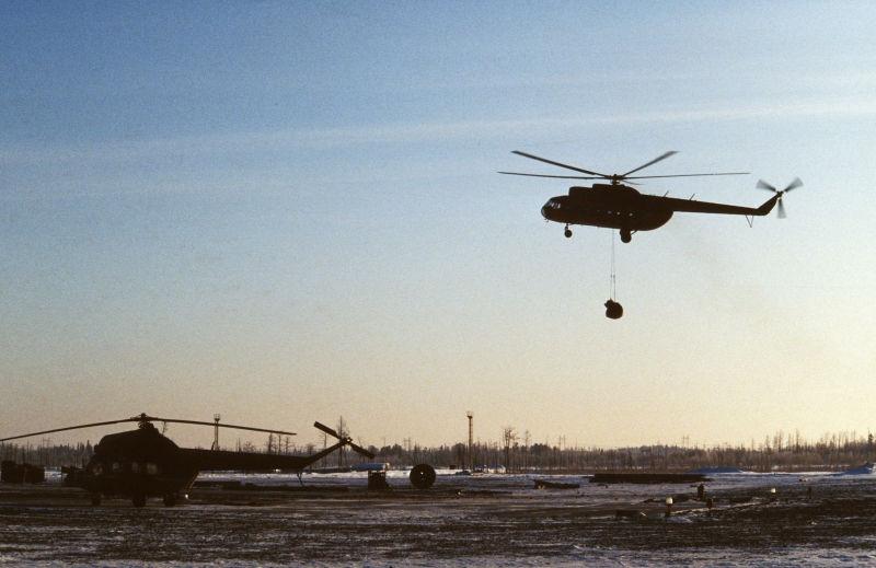 Италия и Россия создадут вертолеты для добычи нефти // Nikolay Gyngazov / Russian Look