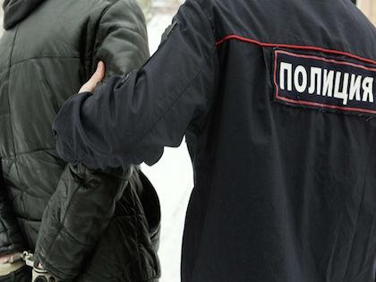 Задержанные были доставлены в отделение полиции //  Николай Гынгазов / Russian Look