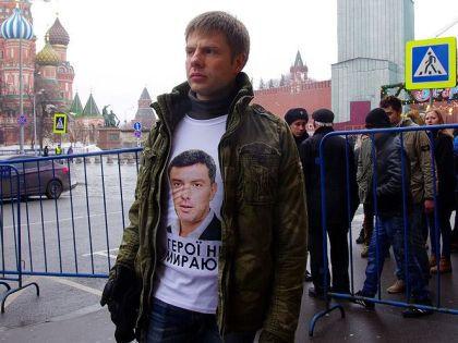 Гончаренко утверждает, что его схватили «из-за футболки» // Из личного архива