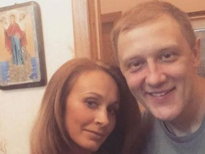 Сергей Горобченко и его жена Полина // Instagram Сергея Горобченко