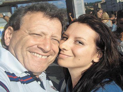 Борис Грачевский и Анна Панасенко // Из личного архива