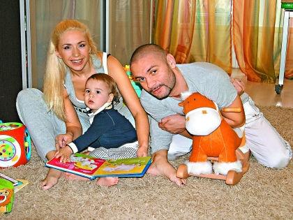 Анастасия с семьей // Мила Стриж
