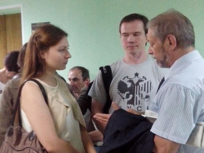 Ильдар Дадин (в центре) с невестой Анастасией Зотовой (слева) // личная страница Анастасии Зотовой в Facebook