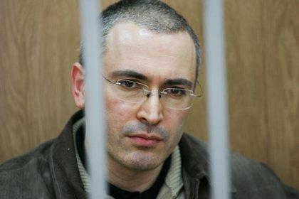 Михаил Ходорковский //  Den Knapweed / Global Look Press