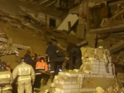 В результате взрыва в Корфовском погибли пять человек // Стоп-кадр RT