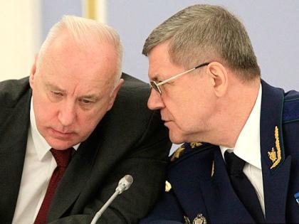 Александр Бастрыкин и Юрий Чайка // kremlin.ru