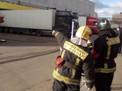 30 октября в холодильно-компрессорном цехе торгового дома «Преображенский» произошёл разлив аммиака //  Официальный сайт МЧС