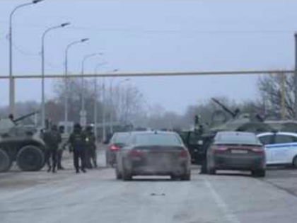 В Чечне проведена самая крупная за последние два года спецоперация по уничтожению и поимке бовиков // Стоп-кадр YouTube